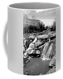Coffee Mug featuring the photograph Reedy River by Corinne Rhode