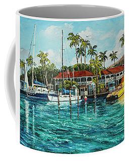 Coffee Mug featuring the painting Reef Dancer  by Darice Machel McGuire