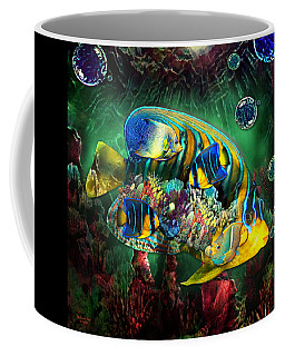 Reef Fish Fantasy Art Coffee Mug