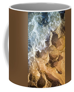 Coffee Mug featuring the photograph Reefy Textures by T Brian Jones