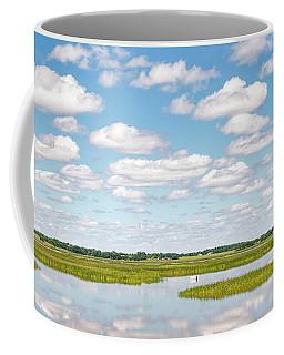 Reflected Clouds - 01 Coffee Mug