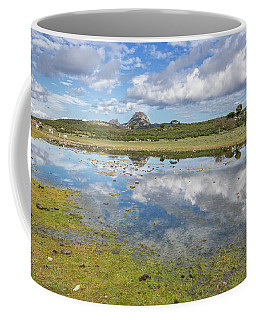 Reflected Mountains Coffee Mug