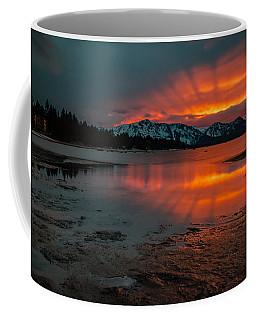 Reflected Rays Of Fire Coffee Mug