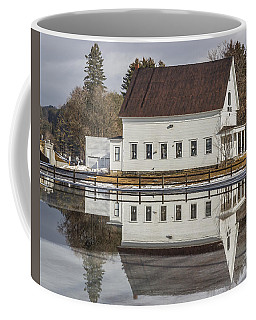 Reflected Town House Coffee Mug