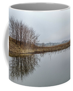 Reflected Trees Coffee Mug