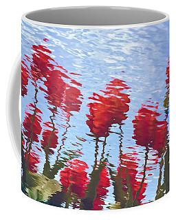 Reflected Tulips Coffee Mug