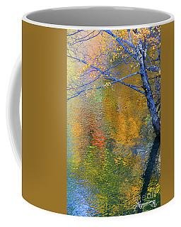 Reflecting Autumn Coffee Mug