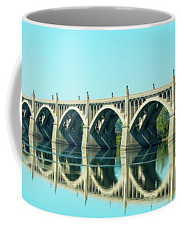 Reflecting Bridge Coffee Mug