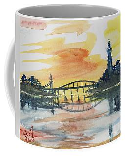 Reflecting Bridge Coffee Mug