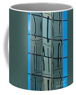 Coffee Mug featuring the photograph Reflecting Eagle 1 by Werner Padarin