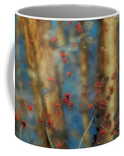 Reflecting Gold Tones Coffee Mug by Elizabeth Dow