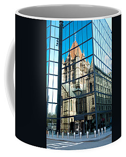 Reflecting On Religion Coffee Mug by Greg Fortier