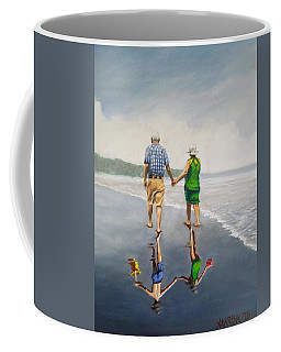 Reflecting Happiness Coffee Mug