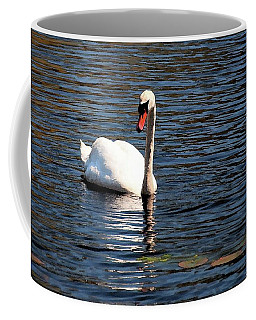 Reflecting Swan Coffee Mug