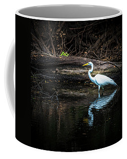 Reflecting White Coffee Mug