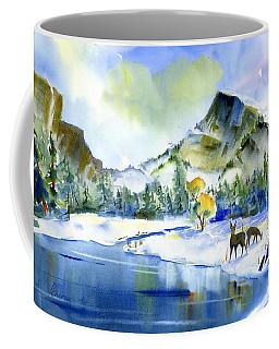 Reflecting Yosemite Coffee Mug