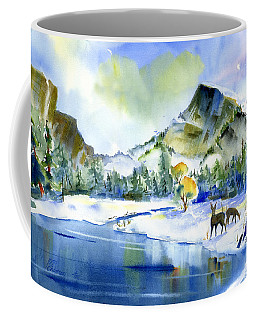 Reflecting Yosemite Coffee Mug