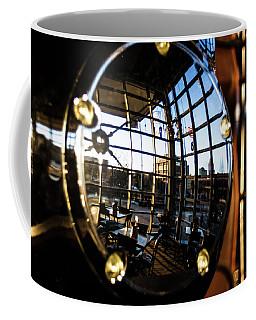 Reflection At Harley Davidson Museum Coffee Mug