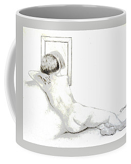 Reflection... Coffee Mug by Edgar Torres
