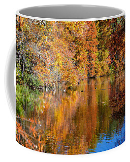 Reflected Fall Foliage Coffee Mug