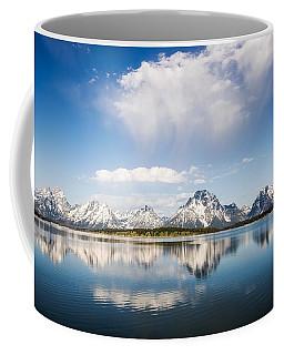 Reflection Grand Tetons Coffee Mug