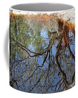 Reflection In A Dark Pool Coffee Mug
