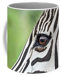 Reflection In A Zebra Eye Coffee Mug