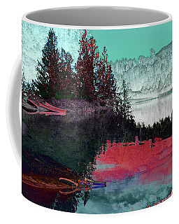 Reflection In The Lake Coffee Mug by David Pantuso