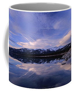 Reflection In Winter Coffee Mug