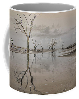 Reflection Of A Dead Tree Coffee Mug