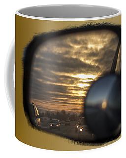 Reflection Of A Sunset Coffee Mug