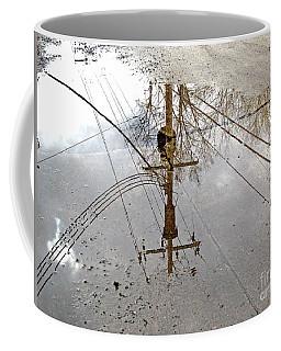 Puddle Reflections  Coffee Mug by Sandra Church