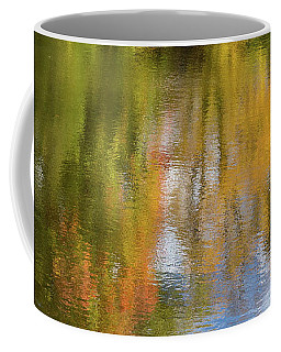 Reflection Of Fall #1, Abstract Coffee Mug