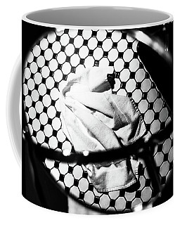 Reflection Of Towel In Mirror Coffee Mug