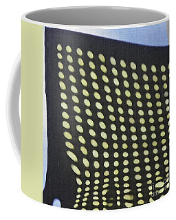 Coffee Mug featuring the photograph Reflection On 42nd Street 3 by Sarah Loft