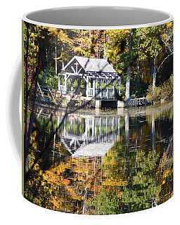 Reflection On Eames Pond Coffee Mug
