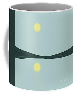Reflection On The Landscape Coffee Mug by Lenore Senior