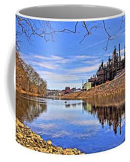 Reflection On The Lehigh - Bethlehem Pa Coffee Mug