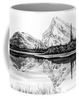 Reflections - Mountain Landscape Print Coffee Mug