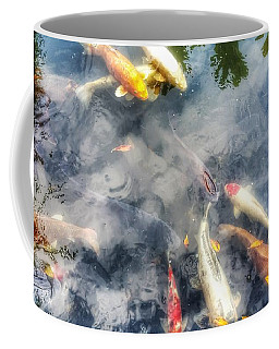 Reflections And Fish 4 Coffee Mug by Isabella F Abbie Shores FRSA