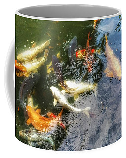 Reflections And Fish 6 Coffee Mug by Isabella F Abbie Shores FRSA