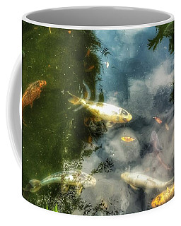 Reflections And Fish  Coffee Mug by Isabella F Abbie Shores FRSA