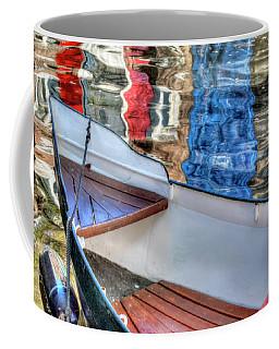 Reflections And Ripples Coffee Mug by Nadia Sanowar