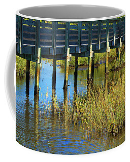 Reflections And Sea Grass Coffee Mug