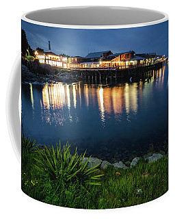 Reflections At Fisherman's Wharf Coffee Mug