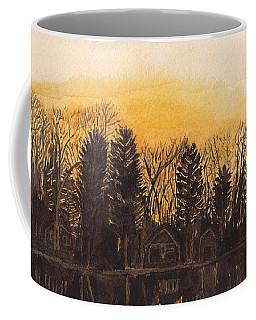 Reflections At Sunset On Bitely Lake Coffee Mug