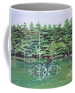 Reflections Coffee Mug by Christine Lathrop