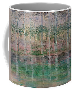 Reflections In The Mist Coffee Mug by Judi Goodwin