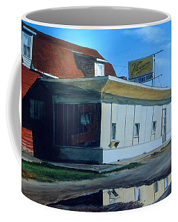 Reflections Of A Diner Coffee Mug