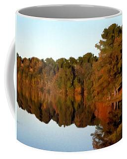 Reflections Of A Pennsylvania Autumn Coffee Mug